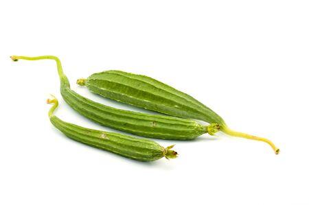 zucchini  isolate on white background Stock Photo