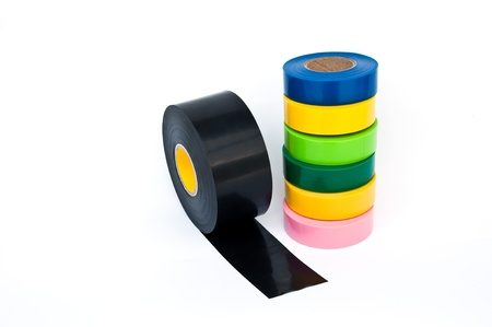 electrician tape Stock Photo