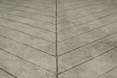 rough surface concrete ramp with line