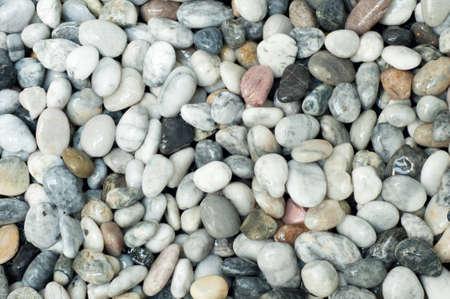 mix gravel on the floor