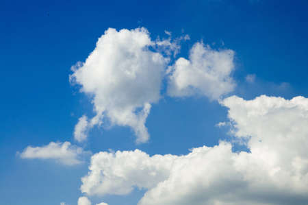 white cloud and the blue sky Stock Photo - 10343582