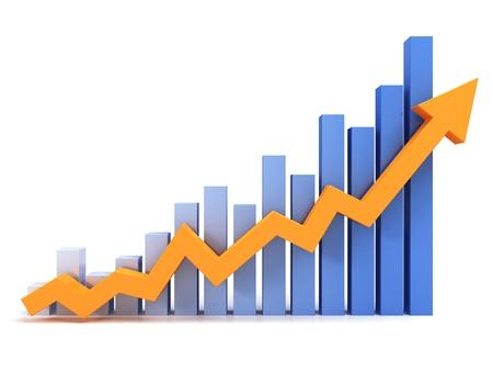 Business graph Фото со стока