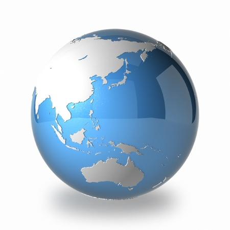 meridiano: Tierra Asia