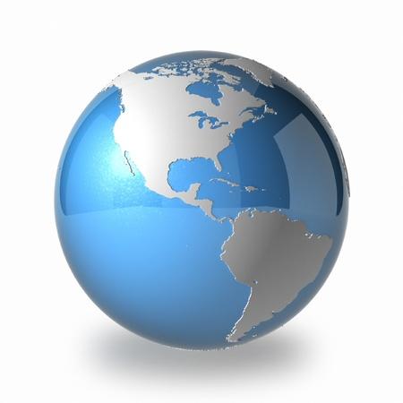 Earth America Stock Photo - 17384498