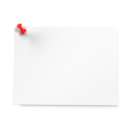 Sticker note isolated on white background