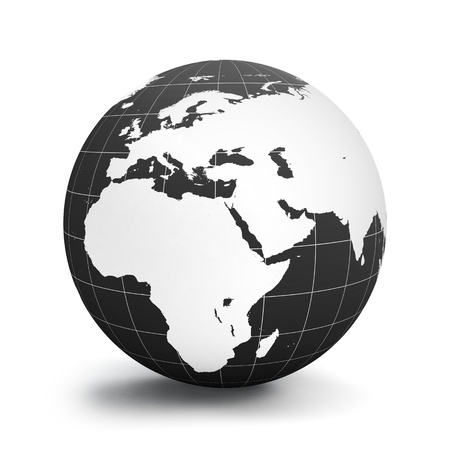 the americas: Planet Earth Stock Photo