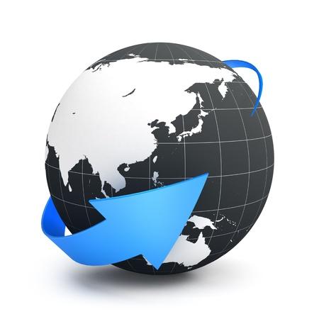 e marketing: Internet concept