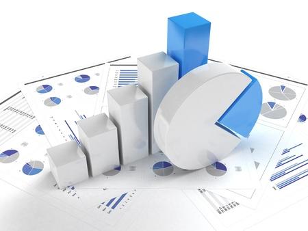 ビジネス グラフとチャート