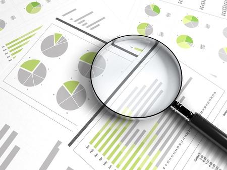 financial statement: business chart