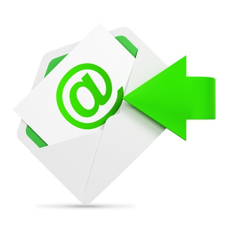 send email: E-mail concept