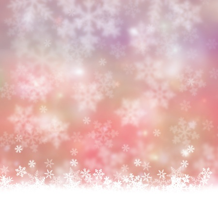 Christmas background with snowflakes Stok Fotoğraf