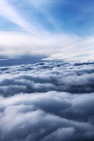 cloud drift: Sky Stock Photo