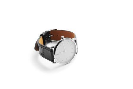 Wristwatch isolated on white background photo