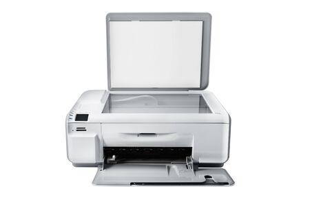 xerox: Multifunction printer isolated on white