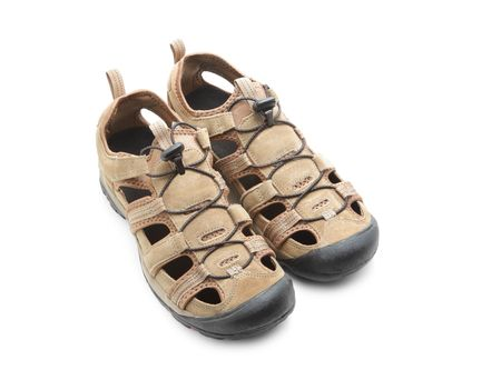 Sandals isolated on white background Stock Photo - 6574079