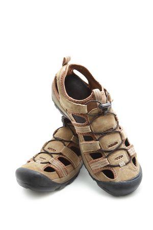 Sandals isolated on white background Stock Photo - 6573969