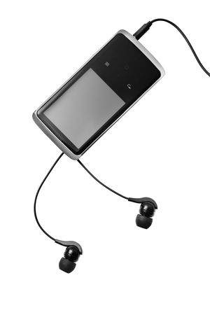 Mp3 player isolated on white Stock Photo - 6573709