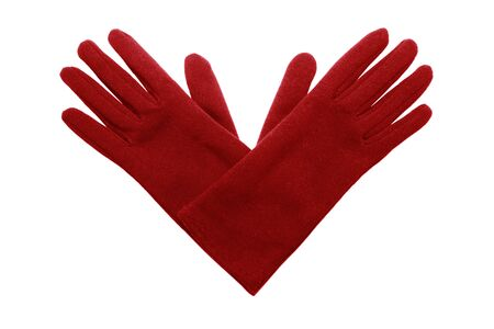 Gloves isolated on white background photo