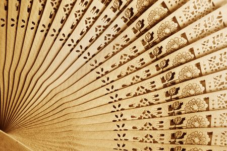 Folding fan background Stock Photo - 6574172