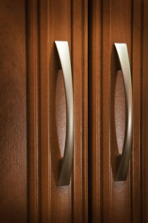office cabinet: Doors and handles