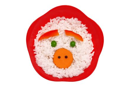 Face made on rice