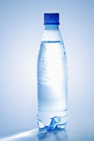 Plastic bottle of mineral water Stock Photo - 6609301