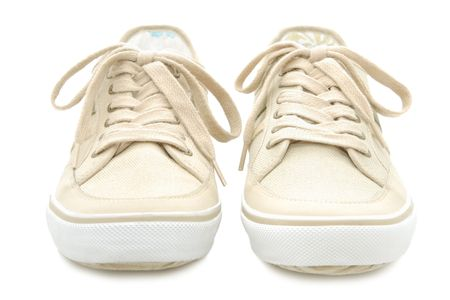 Sneakers isolated on a white background Stock Photo - 6610818