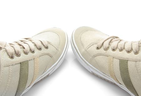 Sneakers isolated on a white background  Stock Photo - 6610778