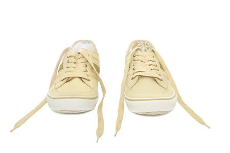 Sneakers isolated on a white background Stock Photo - 6610390