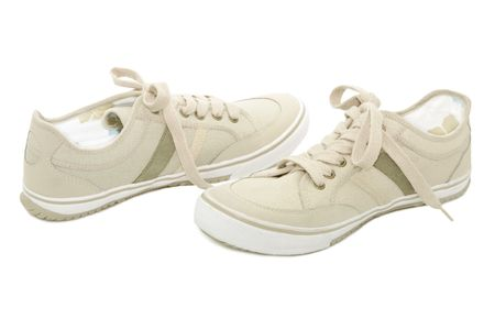 Sneakers isolated on a white background Stock Photo - 6610614