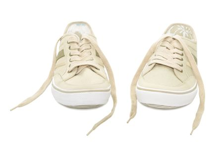 Sneakers isolated on a white background Stock Photo - 6610780