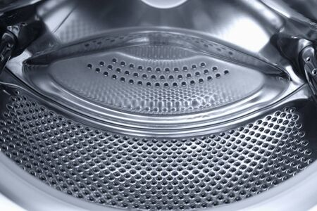 Interior of a washing machine photo