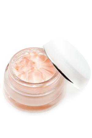 cremas faciales: Crema facial Foto de archivo