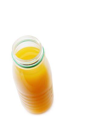 juice bottle: Juice bottle isolated over white background