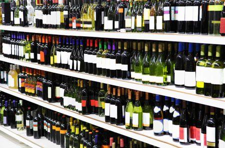 wine trade: Wine shop