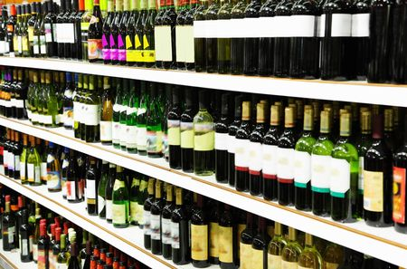 Wine shop Stock Photo - 6625033