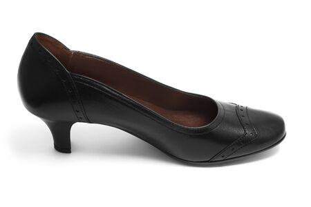 Black shoe isolated on white Stock Photo - 7303023