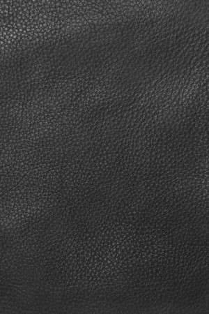 Close-up of black leather texture Stock Photo - 7821242