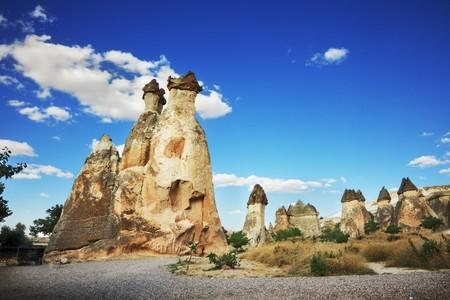 Stone formation in Cappadocia, Turkey