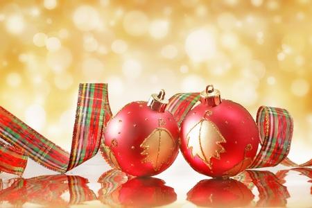 Kerst ballen Stockfoto