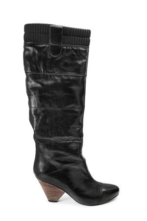 Black boot Stock Photo - 8332110