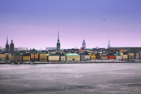View of the capital of Sweden, Stockholm photo