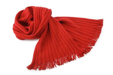 Bufanda aislado en blanco