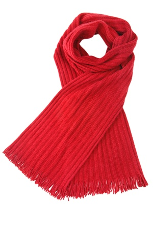 scarf: Scarf isolated on white