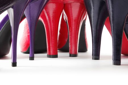 Heels of shoes Stock Photo - 9531561
