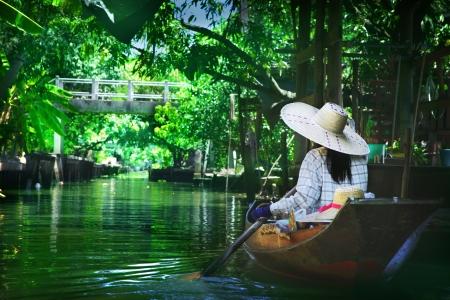 floating market: Floating market Stock Photo
