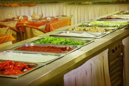 Buffet trays Stock Photo - 9805438