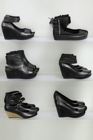 Lots of shoes on sale Stock Photo - 9805436