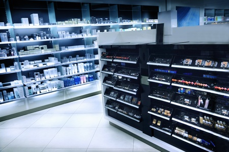 Cosmetics shop photo