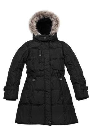 greatcoat: Coat isolated on white background Stock Photo